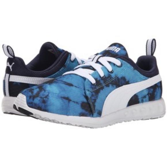 d89c52ae26d4 PUMA Carson Runner Tie-Dye Women s Running Shoes. M 5abe67179d20f08d05cc5e62